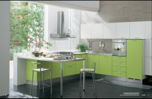 Modern-green-kitchen-design